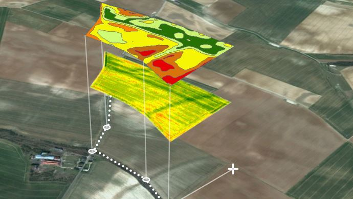 Remote sensing for precision agriculture